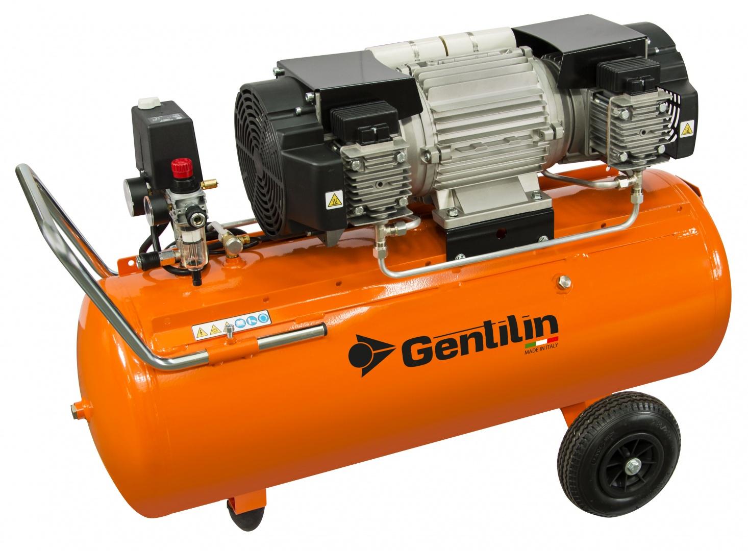 GENTILIN − bezuljni klipni kompresor E480/100