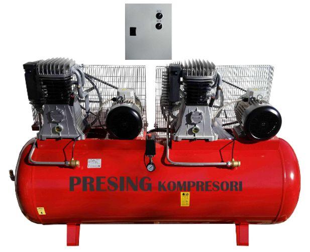 Klipni kompresor 500 l - 11 kW - B6000