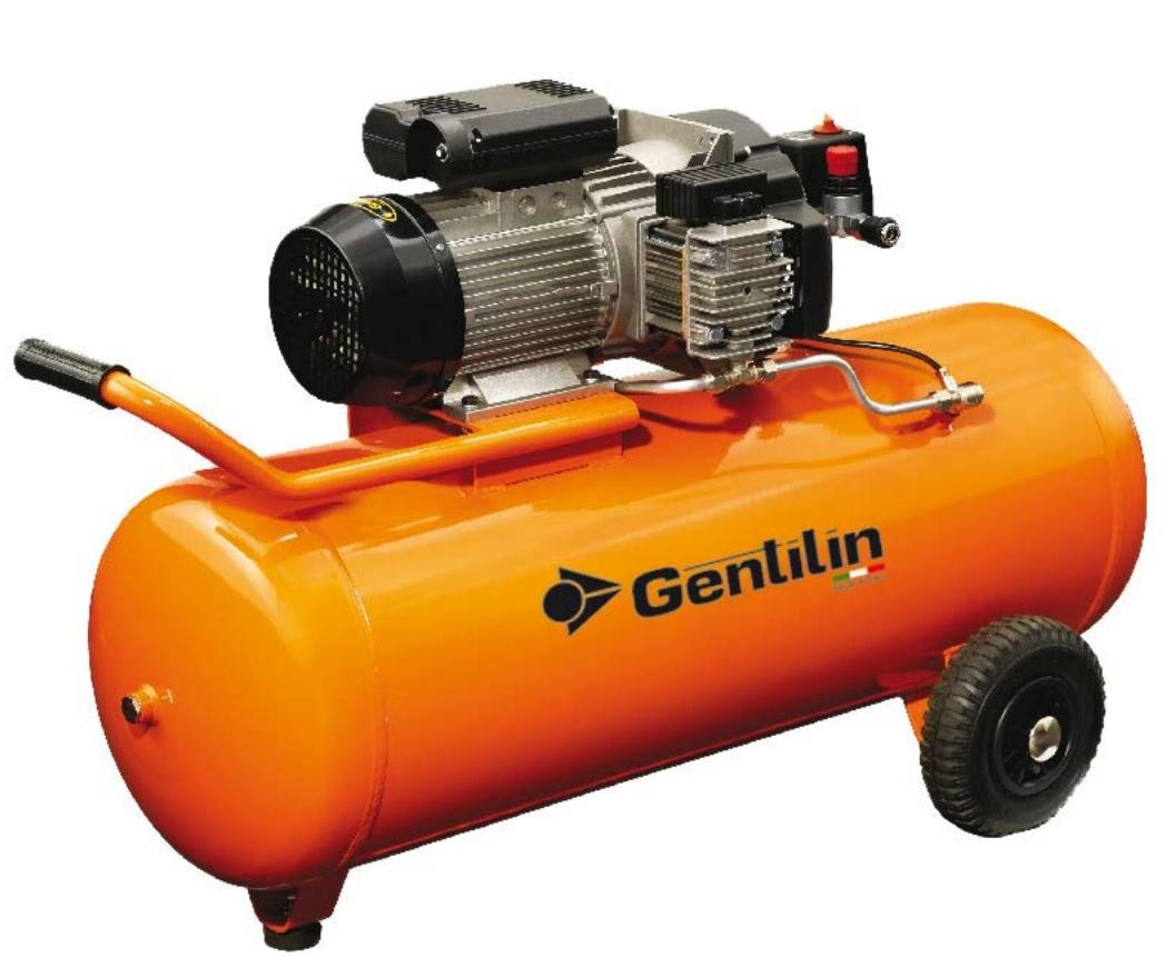 GENTILIN − bezuljni klipni kompresor C330/100 - 2,2 kW