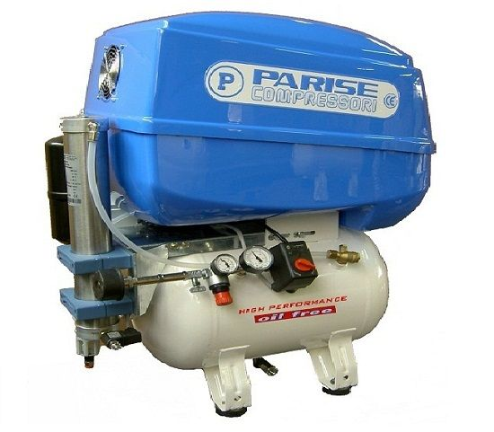Bezuljni dentalni kompresor P50 OF2 P-REBox