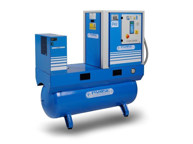 Vijčani kompresor Parise PHV10S300E/EC06-13 - 7,5 kW