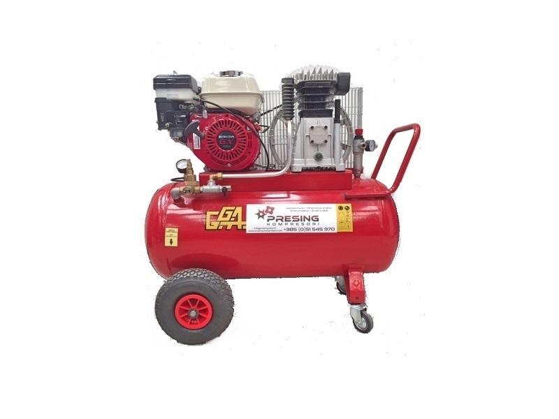 Klipni kompresor sa pogonom na benzinski četverotaktni motor GG 4200
