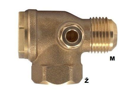 "Nepovratni ventil 3/4"" Ž x 1/2"" M kon."