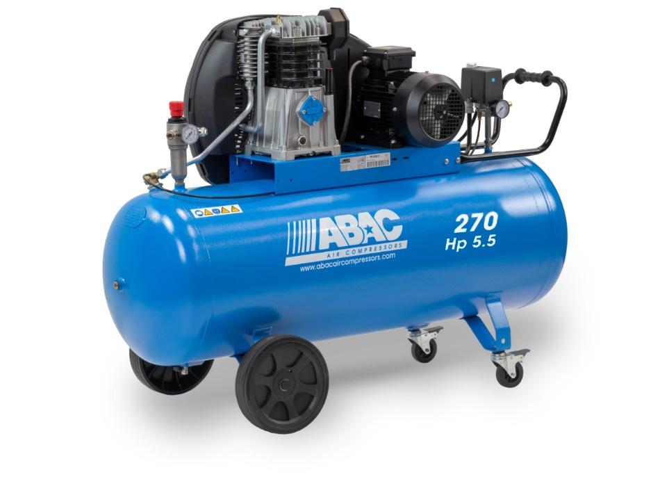 ABAC Klipni kompresor PRO A49B 270 CT5,5