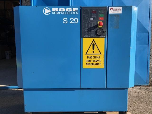 Rabljeni vijčani kompresor BOGE S29, 22kW