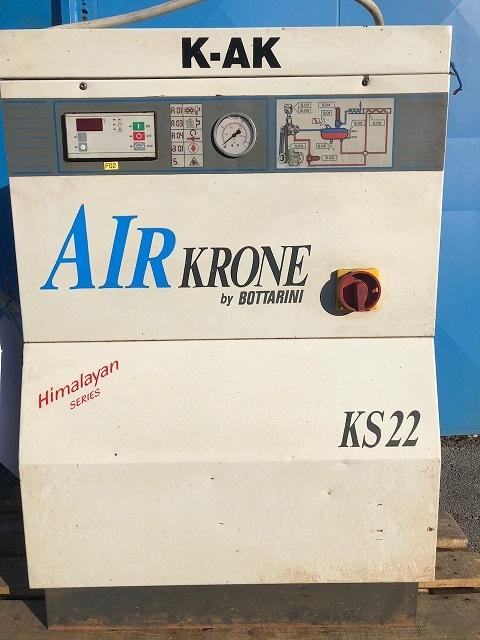 Rabljeni vijčani kompresor BOTTARINI KS22, 15kW