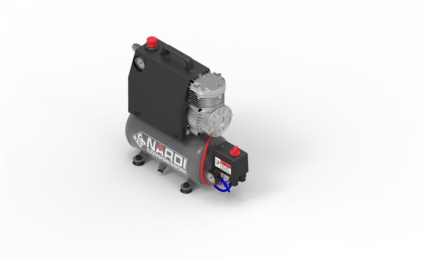 Bezuljni kompresor Silverstone 12/24V 350W