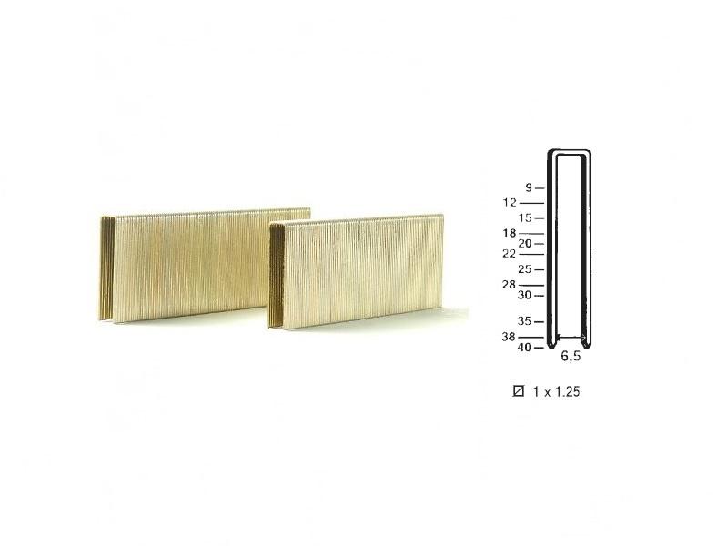 Klamerice tip 92 - 25 mm